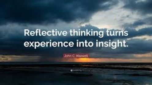 reflective thinking