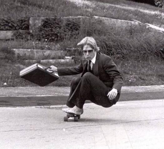 dad skateboarding