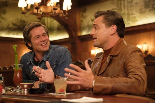 Brad Pitt Presence Being Leonardo DiCaprio