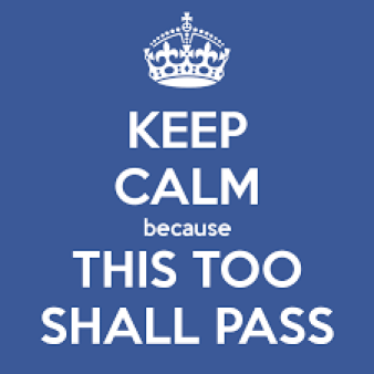 Crisis leadership - This too shall pass