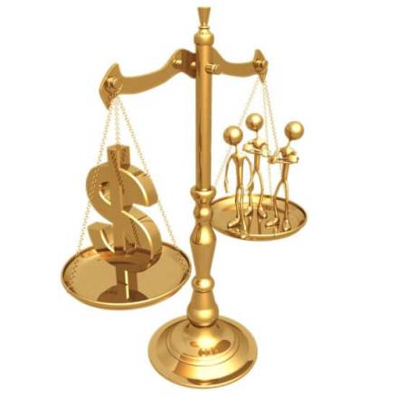balance the scales