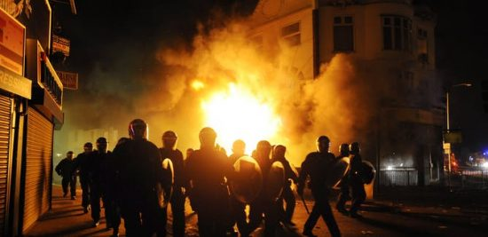 racism and rioting