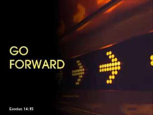 FOGB - Fear of Going Back - Go Forward