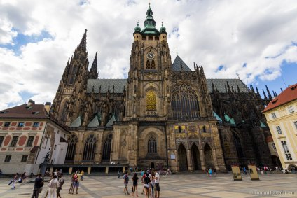 St. Vitus Cathedral side