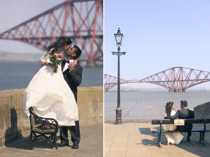 wedding photography in south queensferry - tom migot