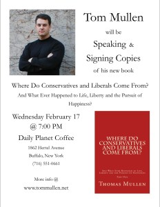 Book signing flyer 20160217 Daily Planet