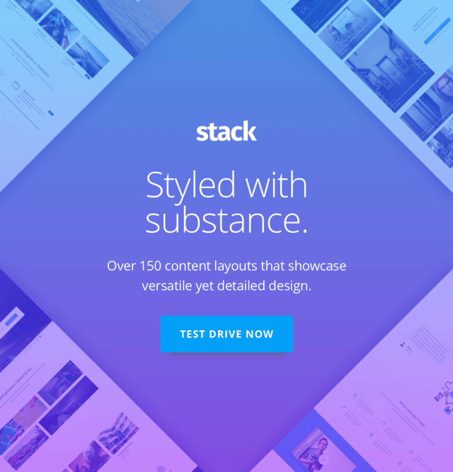 Stack - Multi-Purpose WordPress Theme with Variant Page Builder & Visual Composer 4
