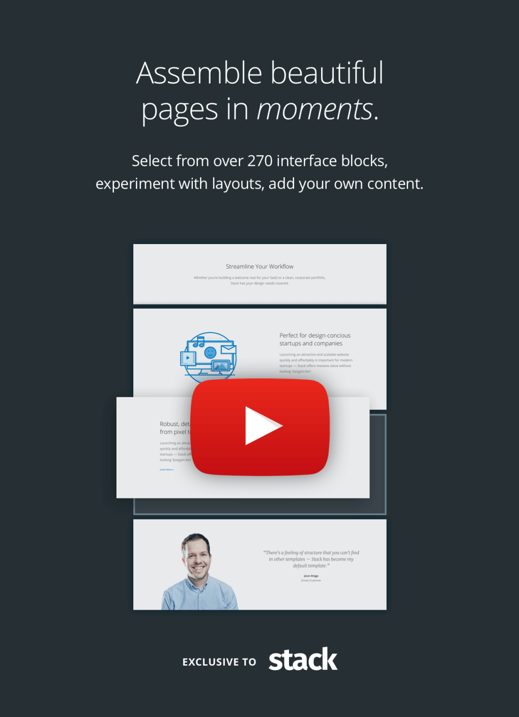 Stack - Multi-Purpose WordPress Theme with Variant Page Builder & Visual Composer 10