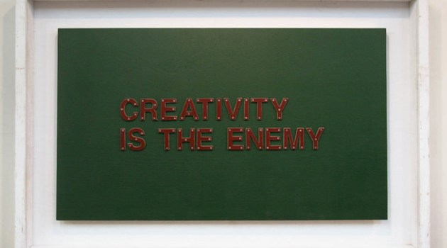 Creativity is the enemy. Be practical when writing articles.