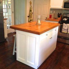 Ikea Kitchen Drawers Table With Bench Seat Island Redo « Tommy & Ellie