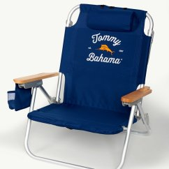 Tommy Bahama Chair Cooler Backpack Bobs Furniture Chairs Navy Deluxe Beach Main Image For