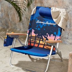 Tommy Bahamas Beach Chair Burnt Orange Kitchen Chairs Sunset Palms Deluxe Backpack Main Image For