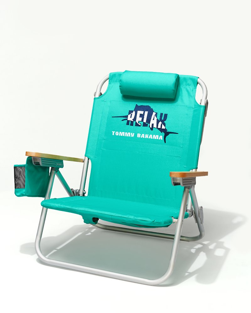 SolidGreen Deluxe Backpack Beach Chair