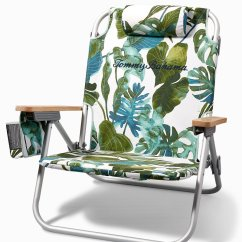 Tommy Bahama Cooler Chair Stainless Steel Legs Beach Chairs Umbrellas Villa Fronds Deluxe Backpack