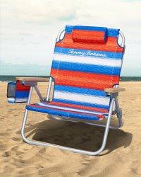Serape Stripe Deluxe Backpack Beach Chair