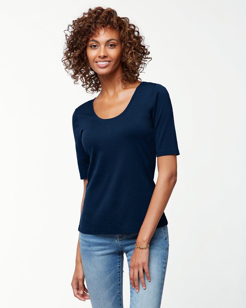 Indio Elbow Sleeve T Shirt