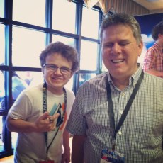 March 21, 2014 - Tommy Edison and Keenan Cahill at Playlist Live in Florida