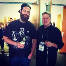 March 22, 2014 - Tommy Edison and Harley (Epic Meal Time) at Playlist Live in Florida