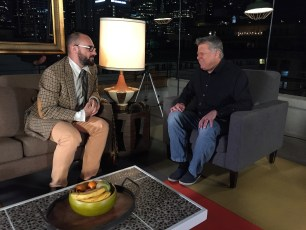 Sept. 27, 2016 - Michael Stevens interviews Tommy Edison for his upcoming YouTube Red series