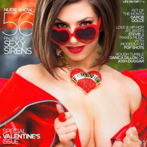 Penthouse February 2016 Cover, Darcie Dolce