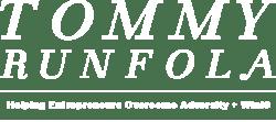 TOMMY RUNFOLA wht logo