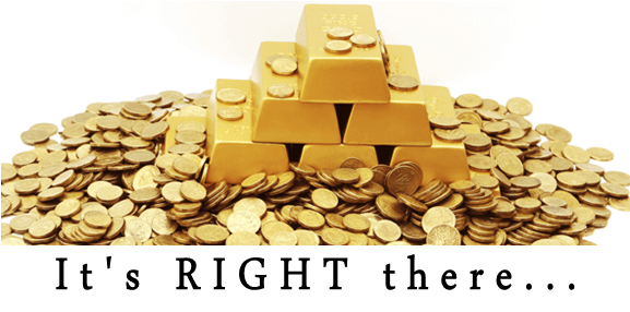 GOLD under your Feet!