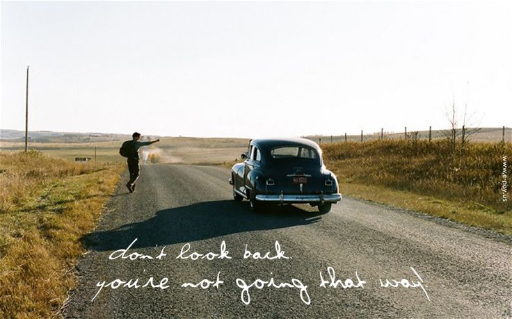 Don't Look Back, except to see How Far You've Come!
