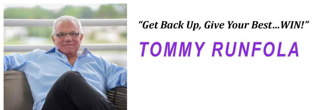 5 Fears that Hold You Back, Tommy Runfola, Winning