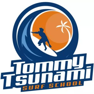 Tommy Tsunami Surf School logo