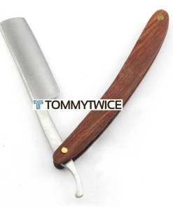 Straight Razor (Cut Throat Razor) with Wooden Handle