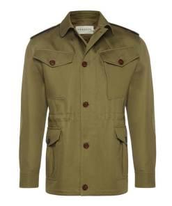 RM Williams 'Montgomery' Jacket - Olive