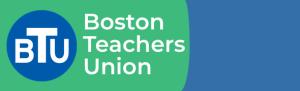 Boston Teachers Union banner