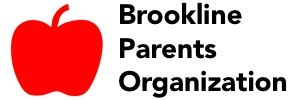 Brookline Parents Organization banner
