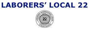 Laborers' Local 22 banner