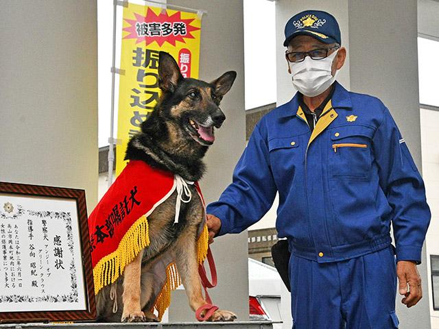 警察犬アンジー