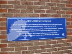 Mission Statement (aluminium composite)