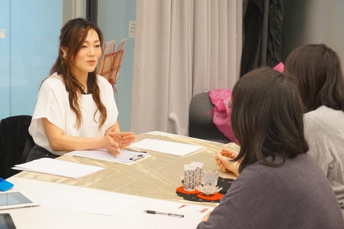 今回の仙台ママフェスプロデューサー、二木ひろえさんによる「四柱推命適職占い」