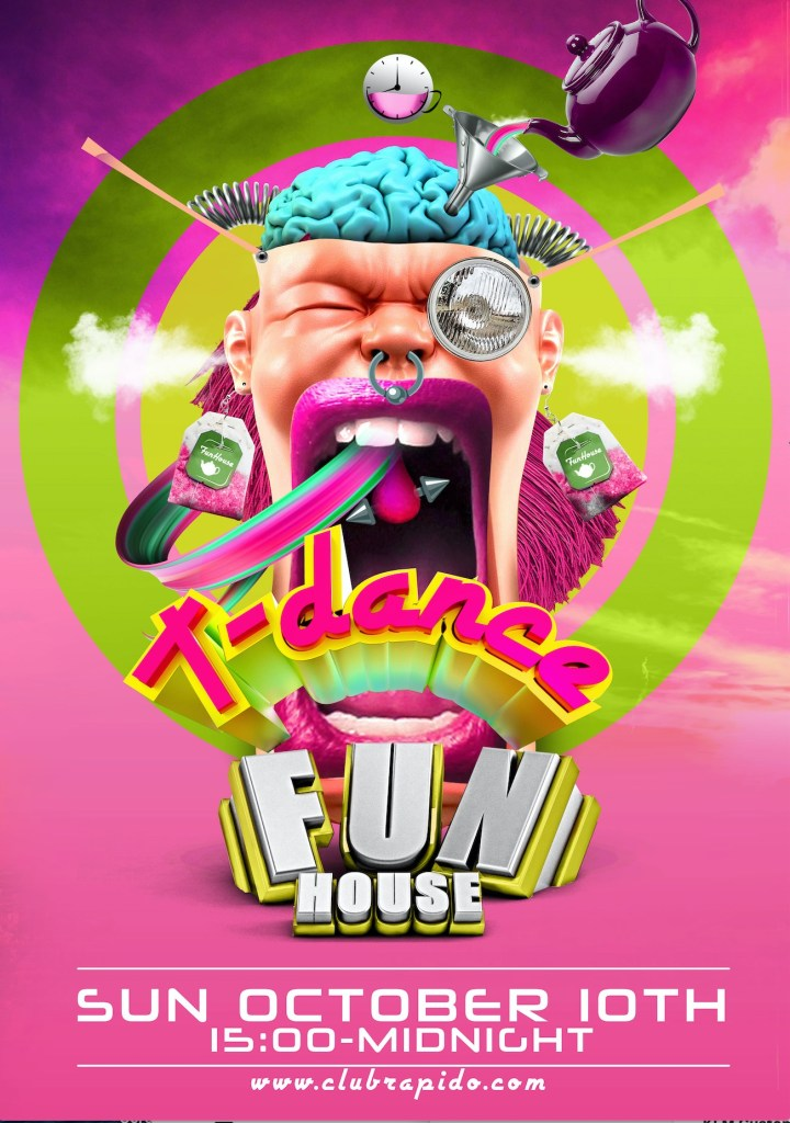 FunHouse Party Amsterdam - Sunday T-Dance