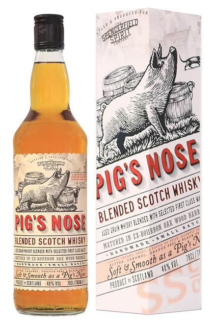 pigs nose, blended whisky, pigs nose whisky,
