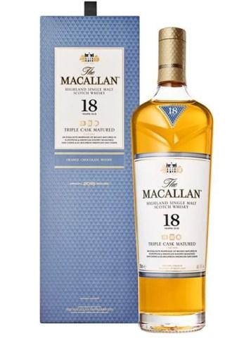 Macallan 18, macallan 18yo, triple cask, fine oak, whisky, speyside whisky, macallan,