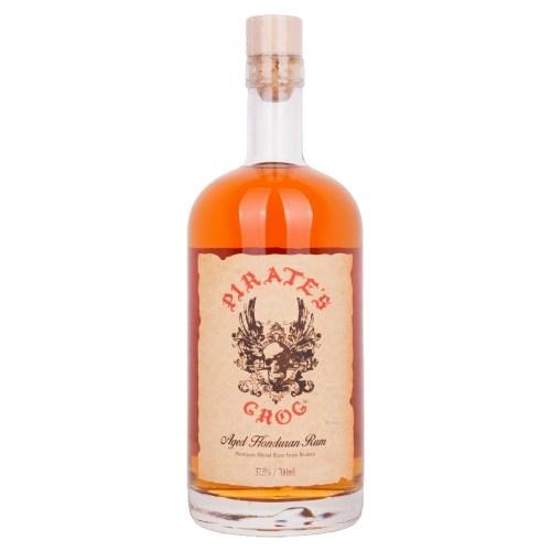 pirate's grog 5 year, rum, honduras, pirates grog