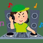 DJのイラスト