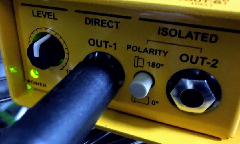 X-AMPのつまみの画像