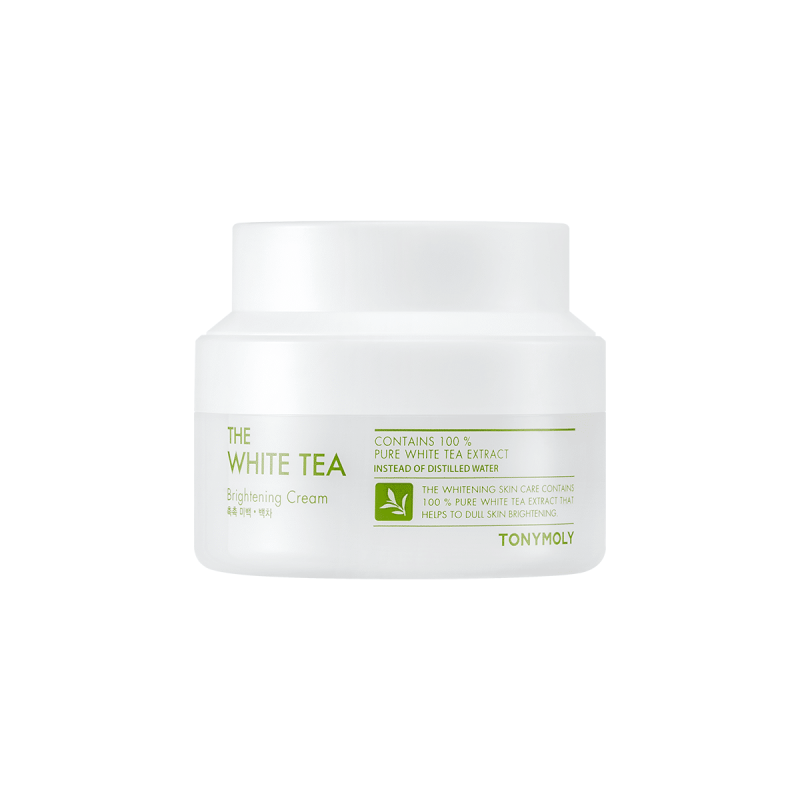 The White Tea Brightening Cream tonymoly blanqueadora