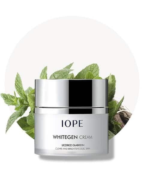 whitegen cream iope blanqueadora