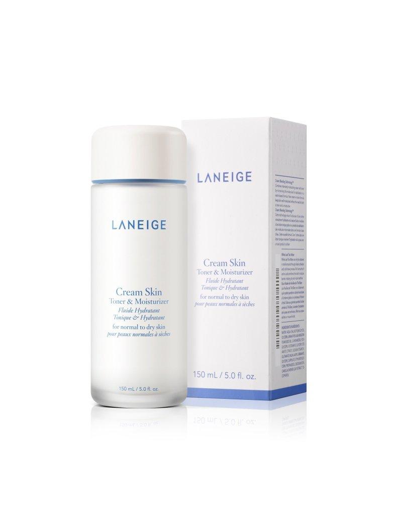Cream skin toner & moisturizer (Laneige)