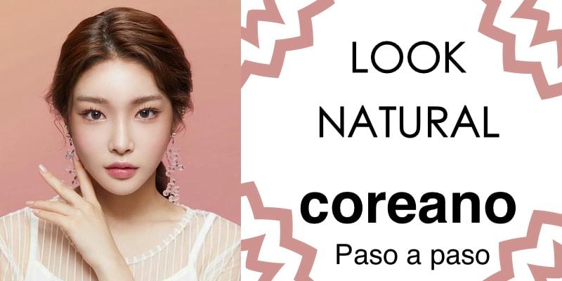 maquillaje coreano fácil