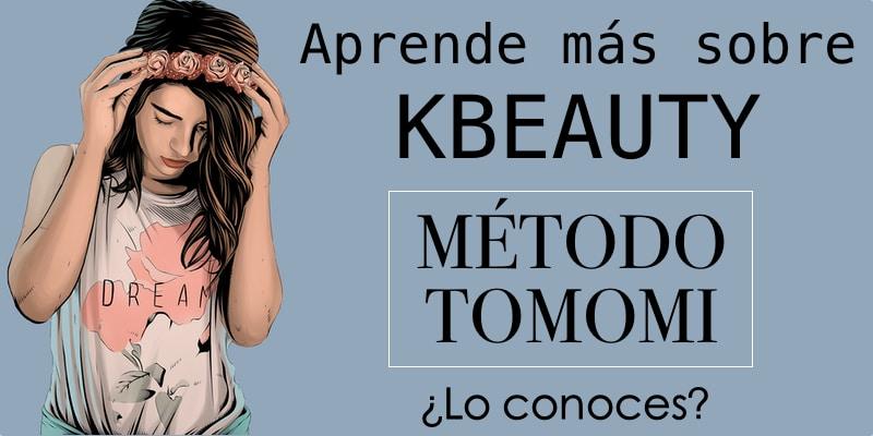 kbeauty metodo tomomi cosmética coreana