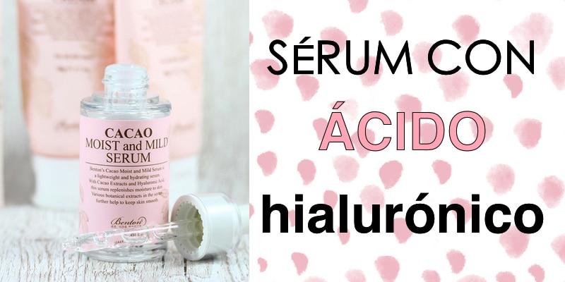 sérum con ácido hialurónico
