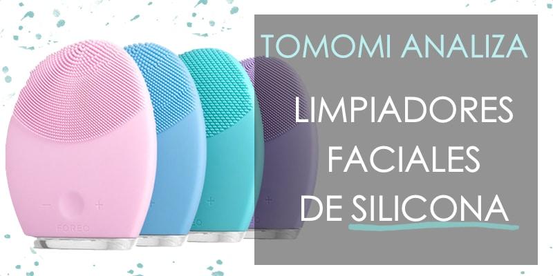 limpiadores faciales eléctricos de silicona